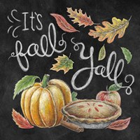 Harvest Chalk III Fine-Art Print