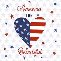 America the Beautiful II Square Fine-Art Print