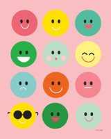 Happy Circles Fine-Art Print