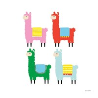 The Llamas Fine-Art Print