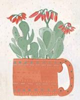 Coral Cuppa Neutral Crop Fine-Art Print