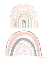 Boho Rainbow IV Framed Print
