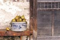 Bushel and a Peck Crock of Pears Fine-Art Print