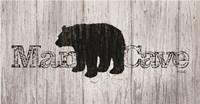 Mancave Bear Fine-Art Print