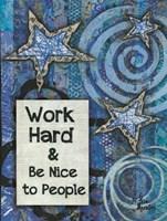Work Hard Fine-Art Print