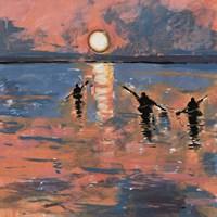 Sunset Kayaking Fine-Art Print