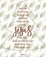 Call His Name Jesus Fine-Art Print