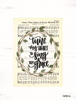 Tune My Heart I Fine-Art Print
