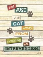 Cat Intervention Fine-Art Print