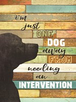 Dog Intervention Fine-Art Print
