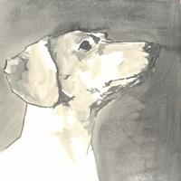 Sepia Modern Dog IV Fine-Art Print