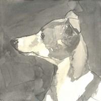 Sepia Modern Dog VII Fine-Art Print