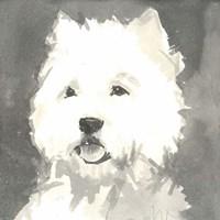 Sepia Modern Dog X Fine-Art Print