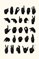 Sign Language I Fine-Art Print