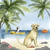Dogs on Deck II Fine-Art Print