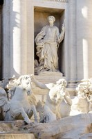 Trevi Fountain in Afternoon Light III Fine-Art Print