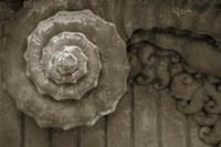 Architecture Detail in Sepia V Fine-Art Print