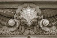Architecture Detail in Sepia VI Fine-Art Print