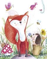 Forest Pals I Fine-Art Print