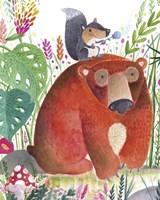 Forest Pals II Fine-Art Print