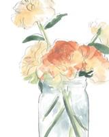 Soft Posy Sketch I Fine-Art Print