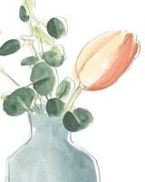 Soft Posy Sketch II Fine-Art Print