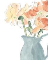 Soft Posy Sketch III Fine-Art Print