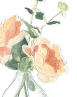 Soft Posy Sketch IV Fine-Art Print