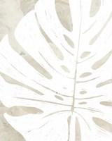 Linen Tropical Silhouette I Fine-Art Print