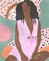 Curly Lady III Fine-Art Print