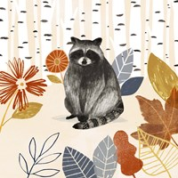 Cozy Autumn Woodland III Fine-Art Print