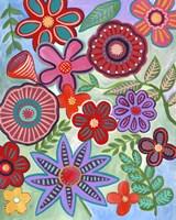 Colorful Flores I Fine-Art Print