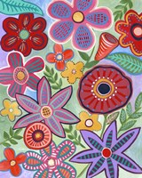 Colorful Flores II Fine-Art Print