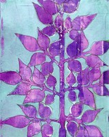 Purple Planta I Fine-Art Print