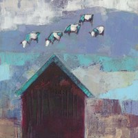 Cow Cloud Barn Fine-Art Print