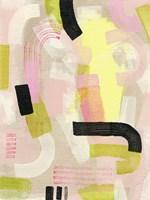 Neon Marks I Fine-Art Print