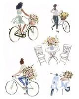 Bring Home Flowers I Fine-Art Print