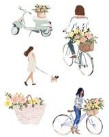 Bring Home Flowers II Fine-Art Print
