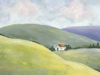 Hillside Vista I Fine-Art Print