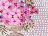Cheeky Pink Floral I Fine-Art Print