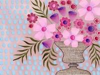 Cheeky Pink Floral II Fine-Art Print