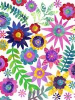 Hippie Floral I Fine-Art Print