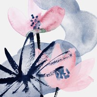 Pink Water Lilies I Fine-Art Print