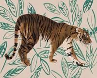 Tigre de Siberie I Framed Print