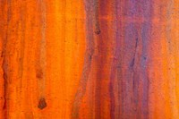 Details Of Rust And Paint On Metal 5 Fine-Art Print