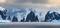 Antarctic Peninsula, Antarctica, Spert Island Craggy Rocks And Mountains Fine-Art Print