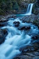 Tawhai Falls, Whakapapanui Stream, Tongariro National Park, New Zealand Fine-Art Print