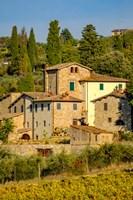 Italy, Florence, Winery, Villa Fine-Art Print