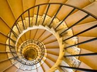 Italy, Lazio, Tivoli, Villa d'Este Spiral Staircase Fine-Art Print