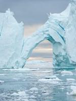 Ilulissat Icefjord At Disko Bay, Greenland Fine-Art Print